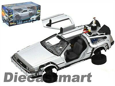 Welly 1:24 Delorean Time Machine Back To The Future Part 2 Flying 22499