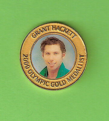 SYDNEY OLYMPIC MEDAL - GRANT HACKETT, MEN'S 1500m FREESTYLE SWIMMING