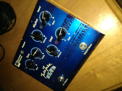 Seymour Duncan Twin Tube Blue Overdrive/Tube Preamp Pedal w/adaptor