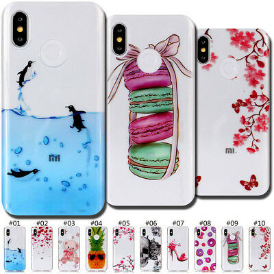 Retro Protective Gel Soft Case TPU Rubber Silicone Back Cover For Xiaomi Redmi