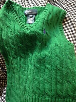 Polo 24m Sweater Vest For Boys