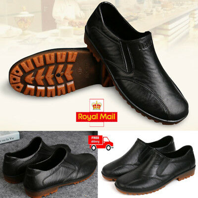 UK Chef Shoes In Kitchen. Nonslip Safety Shoes Oil & Water Proof For Cook