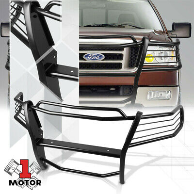 Stainless Steel Front Bumper Headlight//Grille Brush Guard for 11-16 Ford F250//F350//F450//F550 Super Duty