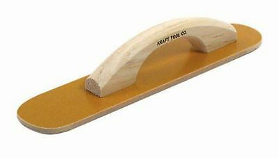 Kraft Tool CF501 Round Ends Laminated Canvas Resin Hand Float, 16 x 3-1/2-Inch
