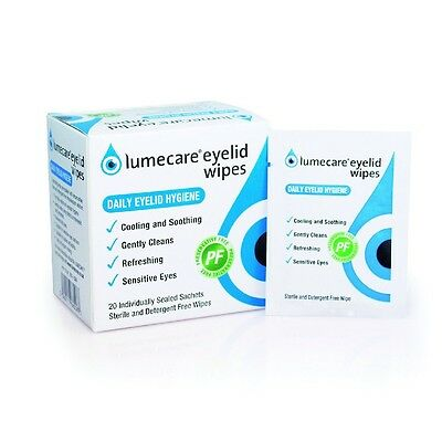 Lumecare Eye Cleansing Wipes Suitable For Cats Dogs Hypoallergenic