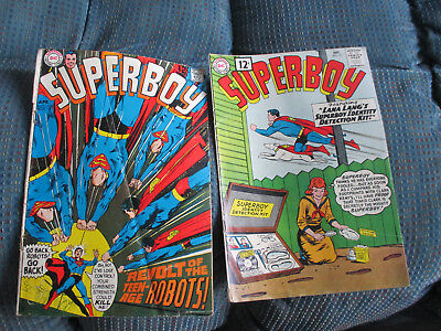 2  Issues  Superboy -  # 93  Vg+ (Better  Issue)  -  # 155  Good  -  Dc      See
