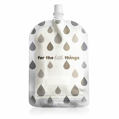 NEW! Sinchies 150ml Reusable Food Pouches BPA Free Infant Baby Pouch - Raindrops