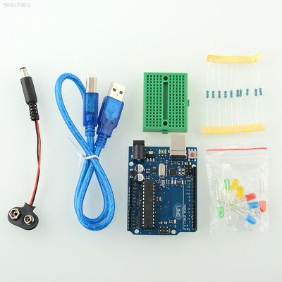 6A9F Project Starter Kit Component LED Breadboard Cable For Arduino Set UNO R3