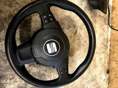 Seat Altea 2005 2.0 Tdi Multi Functional Type Steering Wheel With Driver Cover
