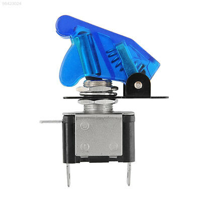 8B60 New Blue 12V 20A SPST Toggle Rocker Switch Control On/Off For Car Motor
