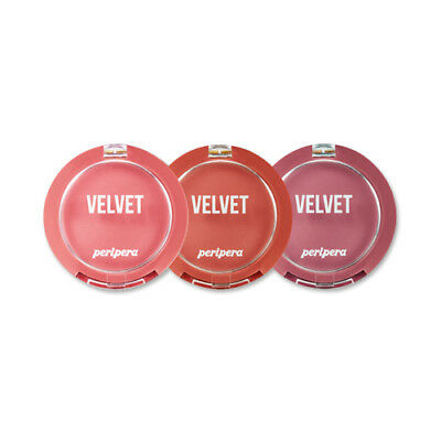 [PERIPERA] Pure Blushed Velvet Cheek (Pink Moment Collection)  - 4g
