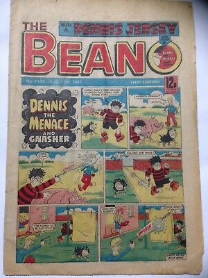 DC Thompson THE BEANO Comic. Issue 2143. August 13th 1983. **Free UK Postage**