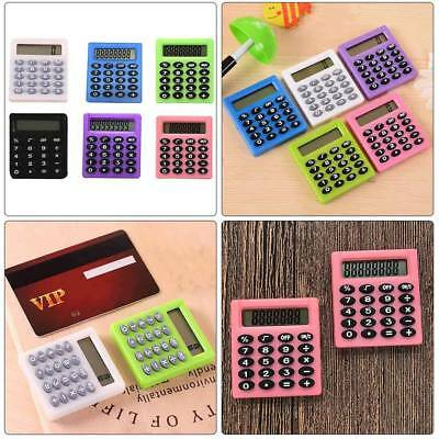 Protable Pocket Mini Electronic Calculator Student School Office Supplies New