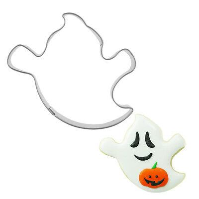 Cookie Cutter Halloween Ghost Shape Party Designer Sugar Cookie Metal Mould Mold