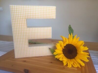 mamas and papas large fabric letter E
