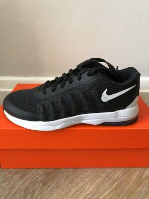 reputable site 0e708 f7d02 Nike Air Max Invigor Ps Girls Boys Trainers Shoes Size Uk 2.5 New Black
