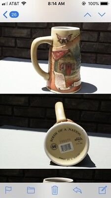 Miller Brewing Company Beer Stein Birth Of A Nation First In A Series