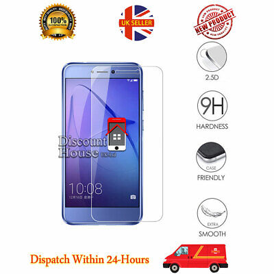 For Hauwei Honor 8 Genuine Temper Glass Hard Screen Protector for Honor 8 Phone