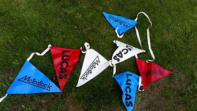 Joseph LUCAS Collectable - LUCAS Motostock Promotional Bunting , 1970s
