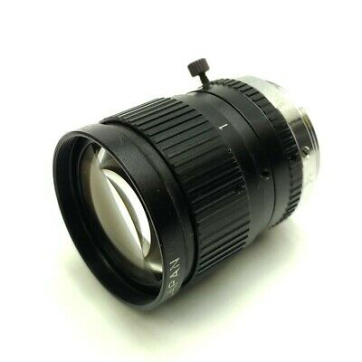 "CCTV Machine Vision Camera Lens, 1/2"" Sensor, 50mm Focal Length, 1:1.8, C-Mount"