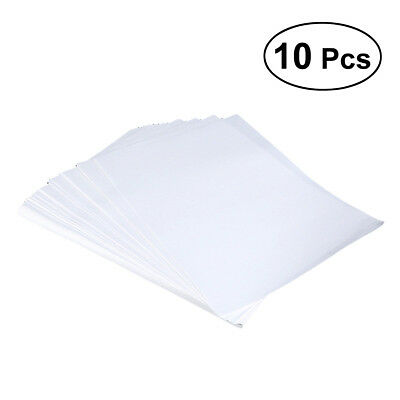 10pcs A4 Sublimation Paper Heat Press Transfer Paper T-shirt for Inkjet Printer