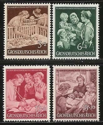 Germany (Third Reich) 1944 MNH - 10th Anniversary 'Mother and Child'  Hilfswerk