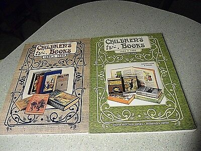 Collectors Guide to Children's Books 1850-1950 Vol 1 & 2 Papercover 1997 & 1999