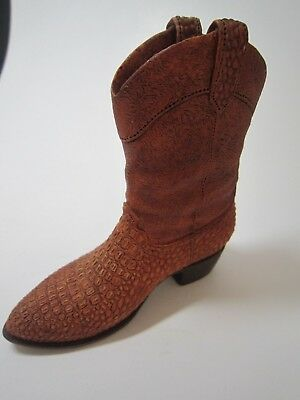 """Just the Right Shoe, Cowboy Boot, 4""""X4"""" Designed by Raine Willitts"""