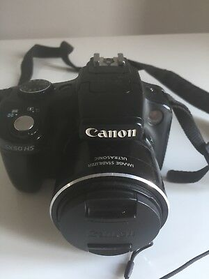Canon SX50 With 4.3-215.0mm Zoom Lens(09/218)