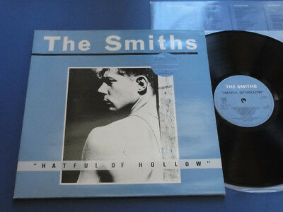 THE SMITHS HATEFUL OF HOLLOW Rough Trade 84 A1B1 UK 1st pr Misprinted sleeve LP