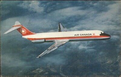 Air Canada Airplane Douglas DC-9 Airline Issued Postcard