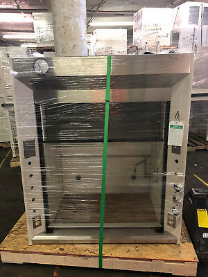 4' Jamestown Isolator Fume Hood with Sink & Pressure Guage