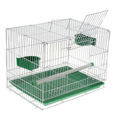Large Metal Bird Cage with Tray for Budgie Parrot Canary Cockatiel Random