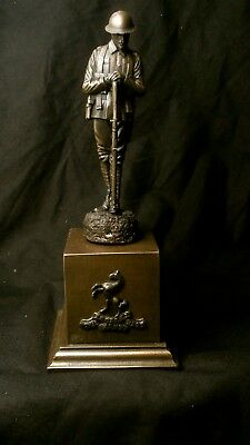 World War One Cold Cast Bronze Remembrance Figure