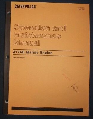 CAT CATERPILLAR C32 Marine Engine Operation & Maintenance Book