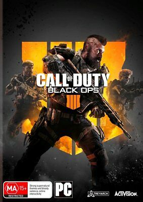 Call of Duty Black Ops 4 PC Game COD NEW