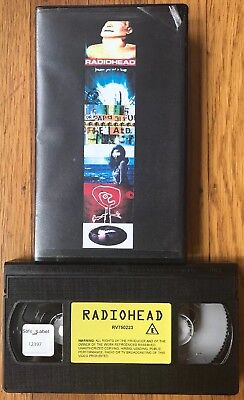 Radiohead VHS Hi-Fi 1996 The Bends Promo RARE Out Of Print