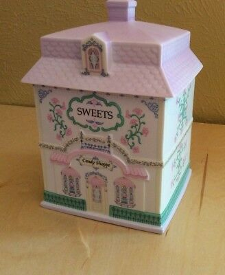 The Lenox Village SWEETS CANDY SHOPPE Fine Porcelain Canister