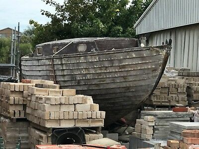 Wooden Yacht Restoration Project