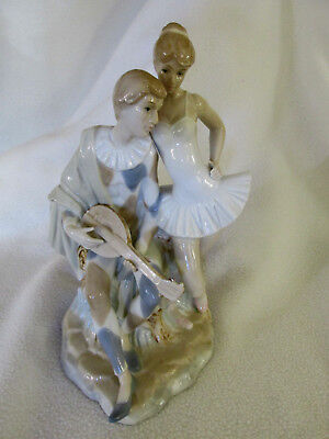 Duncan Royal Double Figurine Ballerina & Jester