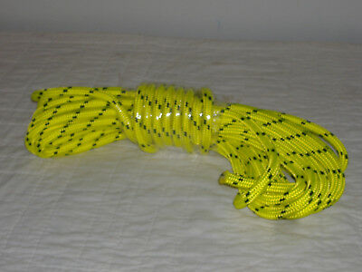"""Double Braid Polyester 1/2""""x 50 feet arborist rigging tree rope roofer safety"""
