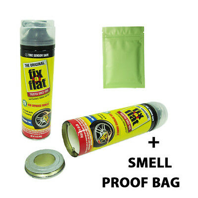 Stash Can Fix A Flat Hidden Diversion Safe Hide Cash Jewelry Phish Secret Wd40 +