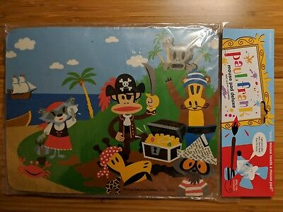 New in Package Paul Frank Julius and Friends Mouse Pad Authentic and Rare