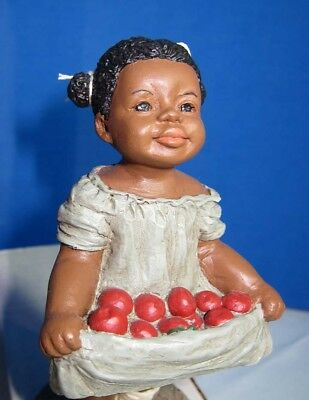 All God's Children Tara Collectible Figurine Precious - with Apples so sweet!