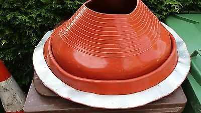 Dektite Original for Metal Roofs 254 to 483mm Pipe External Diameter RED SILICON