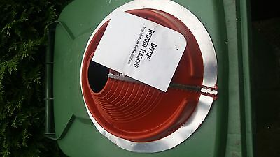 RETRO Dektite  for Metal Roofs 85 to 255mm Pipe External Diameter RED SILICON