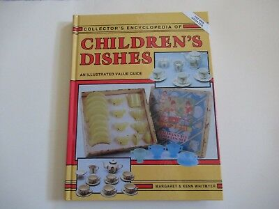 Collectors Guide To Children's Dishes, & Values,276 Pgs. Hardback ,by Whitmyer