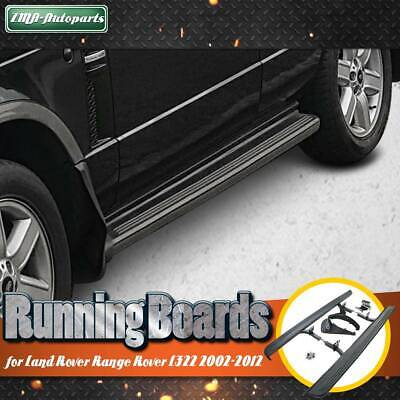 Premium Aluminium Side Steps Running Boards for Land Rover Range Rover III 02-12
