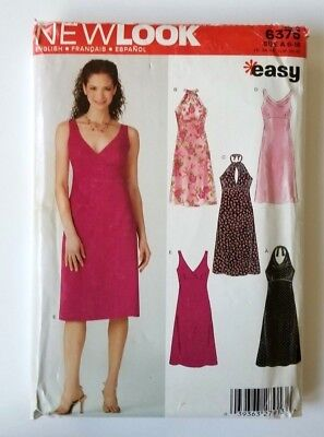 6b6285dc3dc New Look Sewing Pattern 6375 Misses Dresses