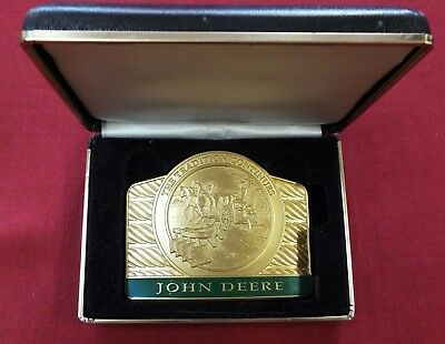 John Deere 1998 The Tradition Continues #0915 of 5000 Commemorative Belt Buckle